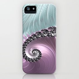 Pink Swirl iPhone Case