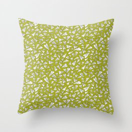 Plane paper. Throw Pillow