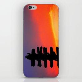 Signpost Sunset iPhone Skin