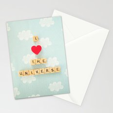 I Heart The Universe Stationery Cards