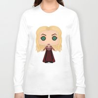 hocus pocus Long Sleeve T-shirts featuring Hocus Pocus Sarah by SpaceWaffle
