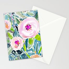 Ballerina Blow Out Floral Stationery Cards