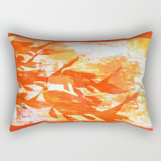 Plaster's Koi Rectangular Pillow