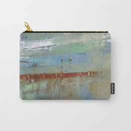 Harbour Abstract II - JUSTART (c) Carry-All Pouch