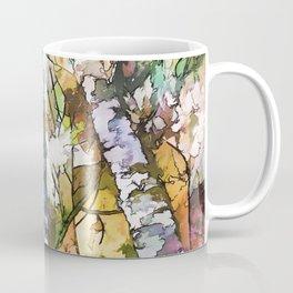 White Aspen an Birch Trees Coffee Mug