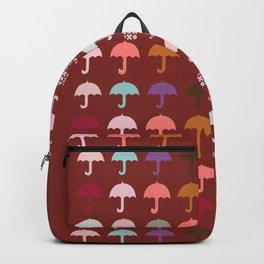 Umbrella Holiday Fun Pattern Backpack