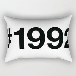 1992 Rectangular Pillow