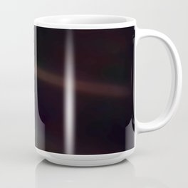 Mote of dust, suspended in a sunbeam Coffee Mug