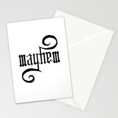 Unleash MAYHEM Stationery Cards