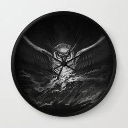 BounD Owl Wall Clock