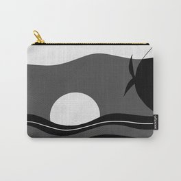 Pool Dream Woman #1 #minimal #wall #art #society6 Carry-All Pouch