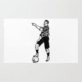 Football Soccer Rug
