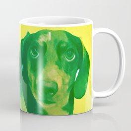 Evergreen Dachshund Coffee Mug