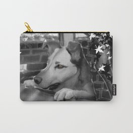 Dog in Fall Carry-All Pouch