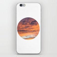 Berkshire Sunset II circle iPhone & iPod Skin