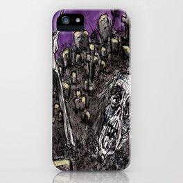 Zombies....Braaaiiinnnnsss!!! iPhone Case