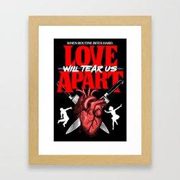Love Apart Framed Art Print