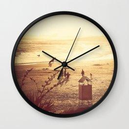 La Barra Sunset Wall Clock
