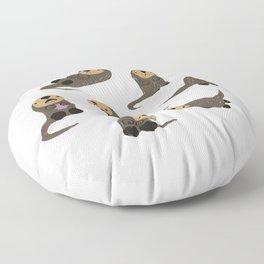Otter Fun Floor Pillow