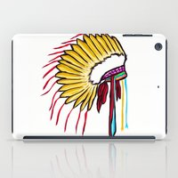 headdress iPad Cases featuring Headdress by Relic X