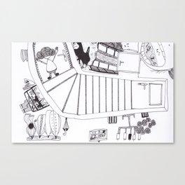 eschers Canvas Print