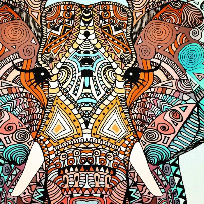 BOHO SUMMER ELEPHANT Leggings