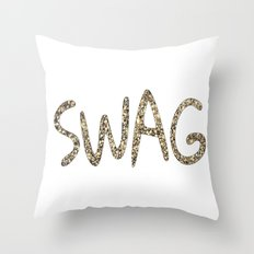SWAG GOLD-30 Throw Pillow