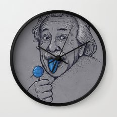 Blue Tongue Wall Clock