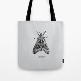 Cabbage Moth [Mamestra brassicae] Tote Bag