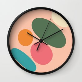 Round abstract  Wall Clock