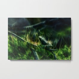 Forest Frog Metal Print