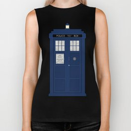 Doctor Who's Tardis Biker Tank