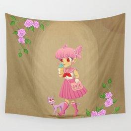 Retro Sailor Chibi Moon Wall Tapestry