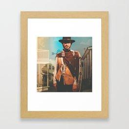 Clint Eastwood Framed Art Print