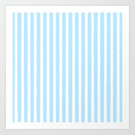 PIN STRIPES Art Print