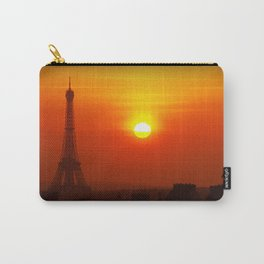 Red Paris Carry-All Pouch