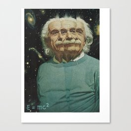 The splitting of the atom changed everything Canvas Print