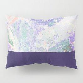Bit of Brushstroke - Royal Blue Pillow Sham