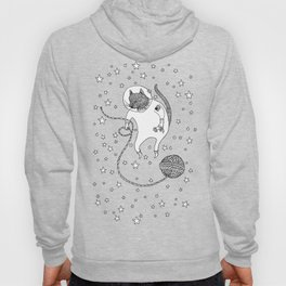 Space Cat Proves String Theory Exists Hoody
