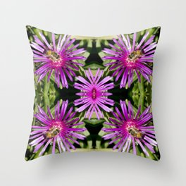 Purple Decadence Throw Pillow