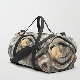 Stone Monster's eye Duffle Bag
