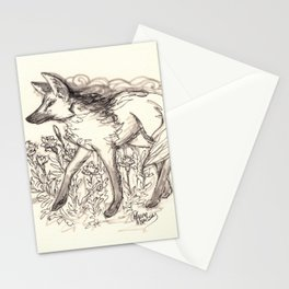 Maned Wolf Stationery Cards