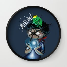 Merlin!!! Wall Clock