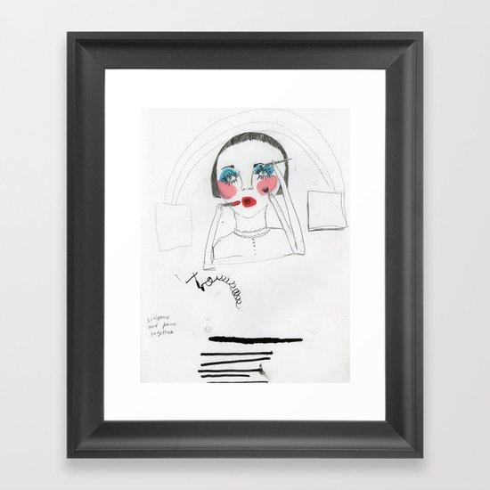 nenita loka Framed Art Print