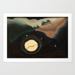 Arthur Dove, Me and the Moon, 1937 Art Print