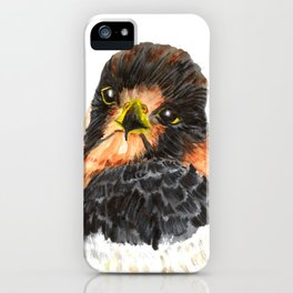 Glamour Falcon iPhone Case