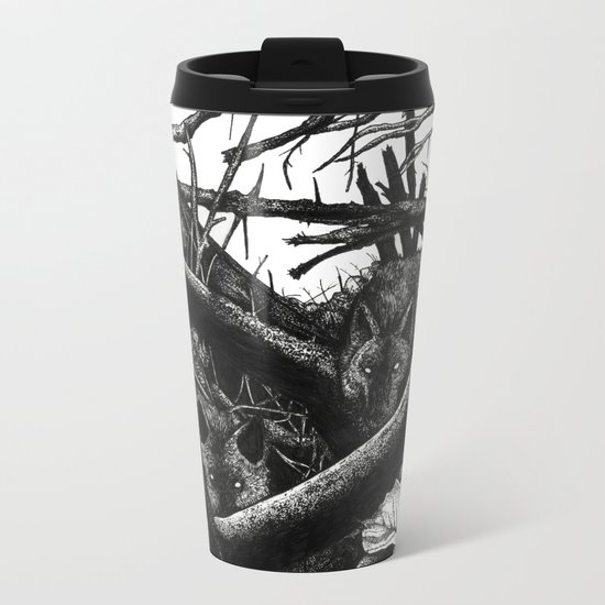 La Tanière. Metal Travel Mug