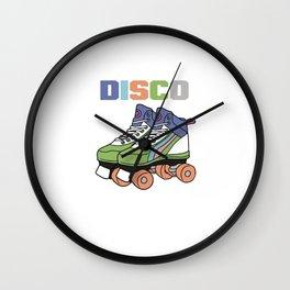 Vintage Roller Disco Wall Clock