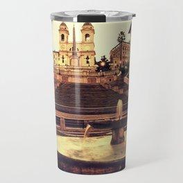 Spanish Steps Travel Mug