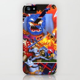 Ghost and Goblins iPhone Case